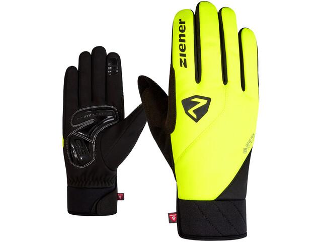 Ziener Donni GTX Infinium Primaloft Bike Gloves, poison yellow